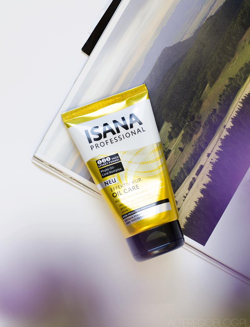 Niedziela dla włosów #9 | Isana Professional, kuracja do włosów z olejkiem arganowym