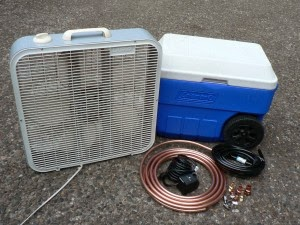 how to make an air conditioner without ice