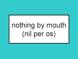 By mouth abbreviation