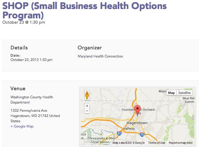 Speak With Authority: Maryland Postpones All Obamacare ...