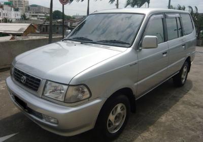 Eksterior Kijang Kapsul 2000, 2001, 2002