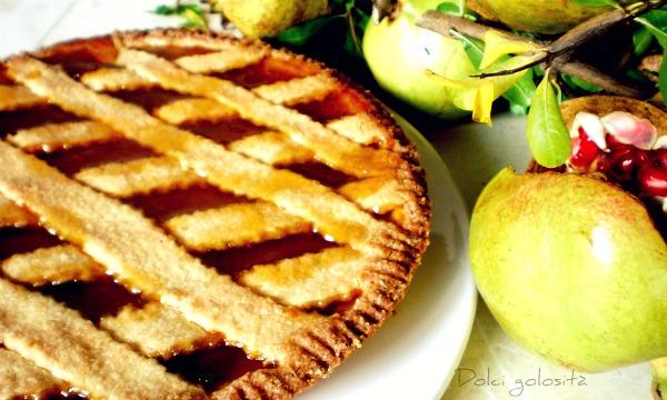 Dolcigolosità- Crostata marmellata d'albicocche