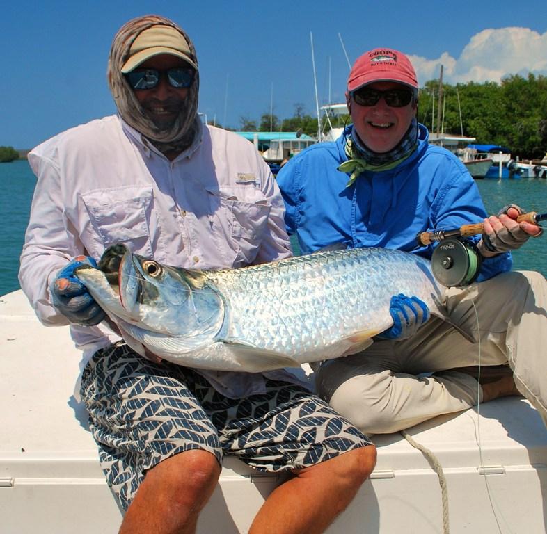 Light tackle adventure tarpon fishing boqueron bay the for Fly fishing puerto rico