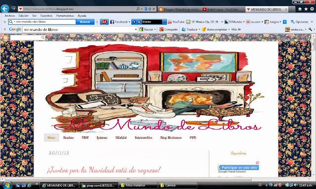 http://mimundodelibros.blogspot.mx/