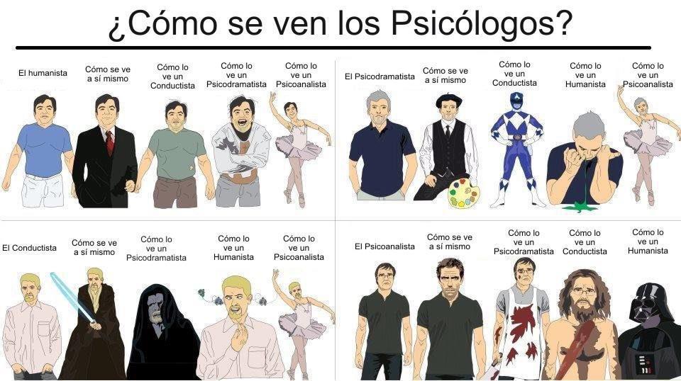 psicochistes c mo se ven los psic logos