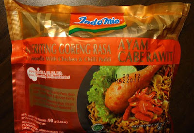 Indomie Curly Noodle With Chicken & Chilli Paddi