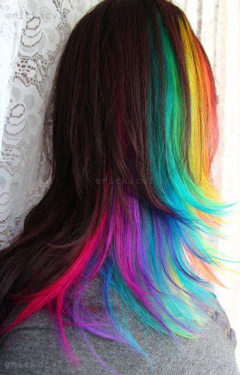 Beautiful Rainbow Highlights Ideas