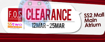 F.O.S Clearance Sale Event