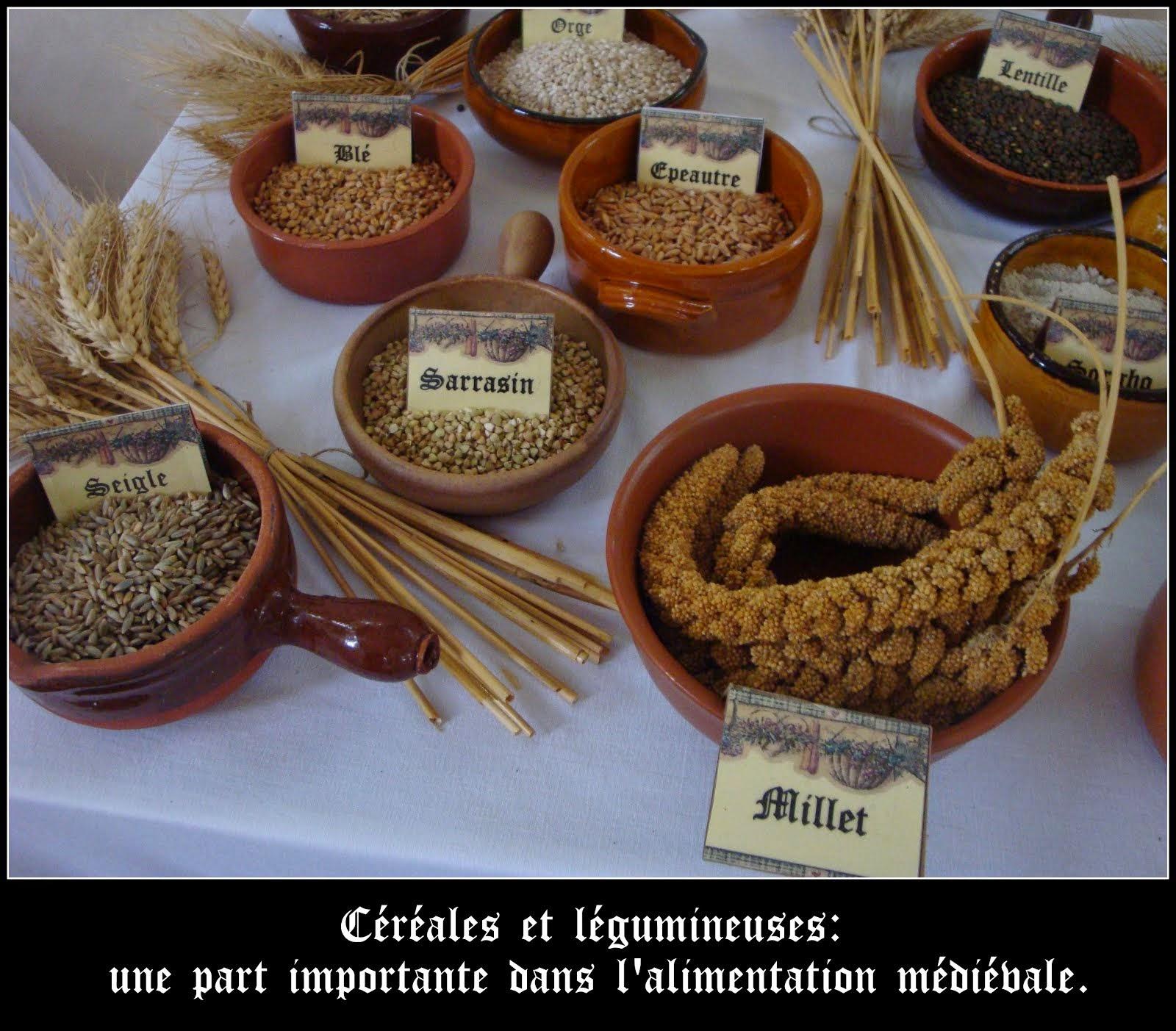 Céréales et légumineuses...
