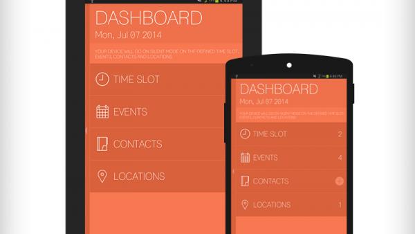 Una app para ANDROID con la cual poner nuestro teléfono en silencio