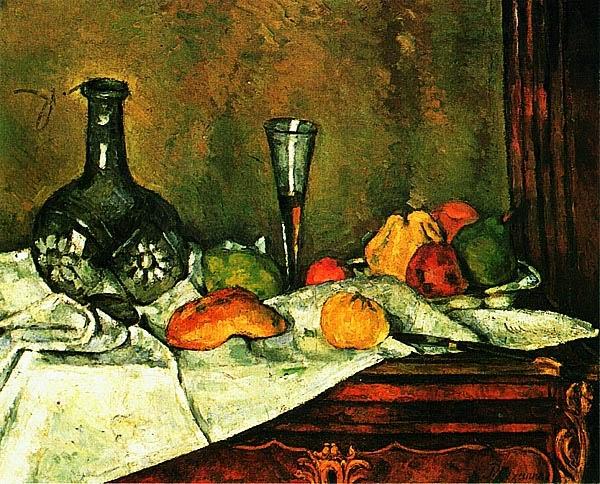Поль Сезанн. Десерт. 1877.