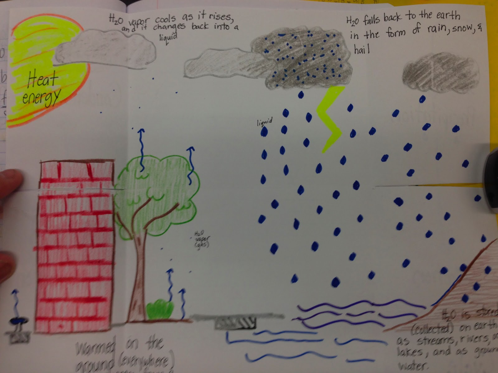 4 ever a teacher the water cycle the water cycle ccuart Choice Image