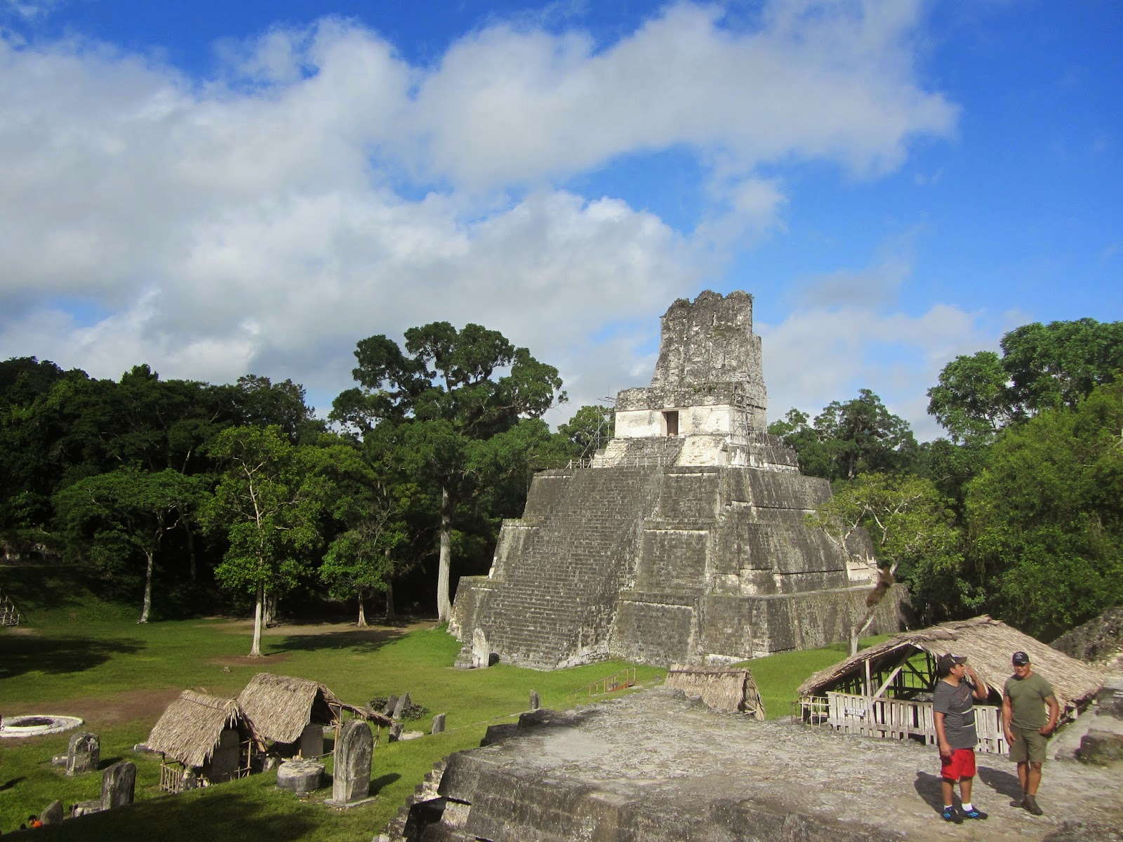 Temple at Tikal in Guatemala