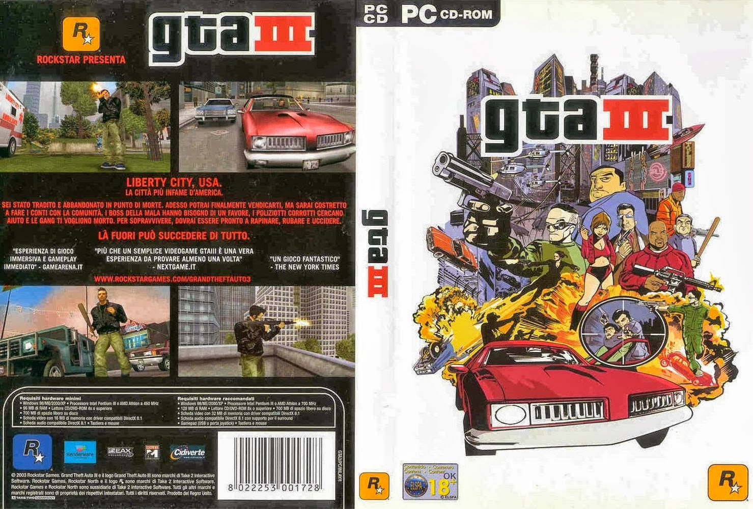 | GTA III - 3 - Liberty City DOWNLOAD |