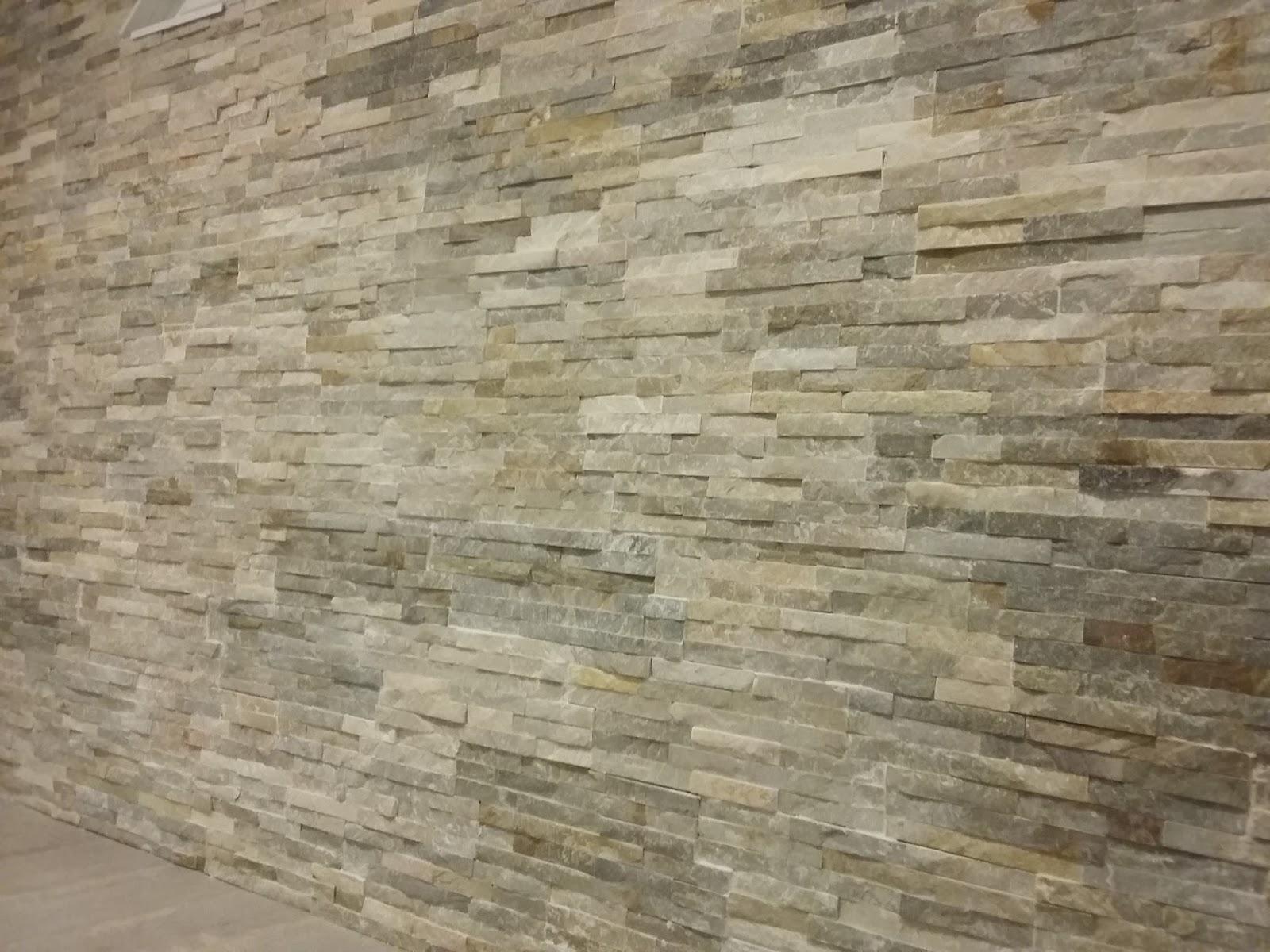 Bricolage de l 39 id e la r alisation les d tails font for Mur parement pierre interieur
