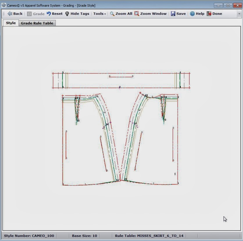 The Sewing Lab: Wild Ginger Cameo 5 Patternmaking Software Review