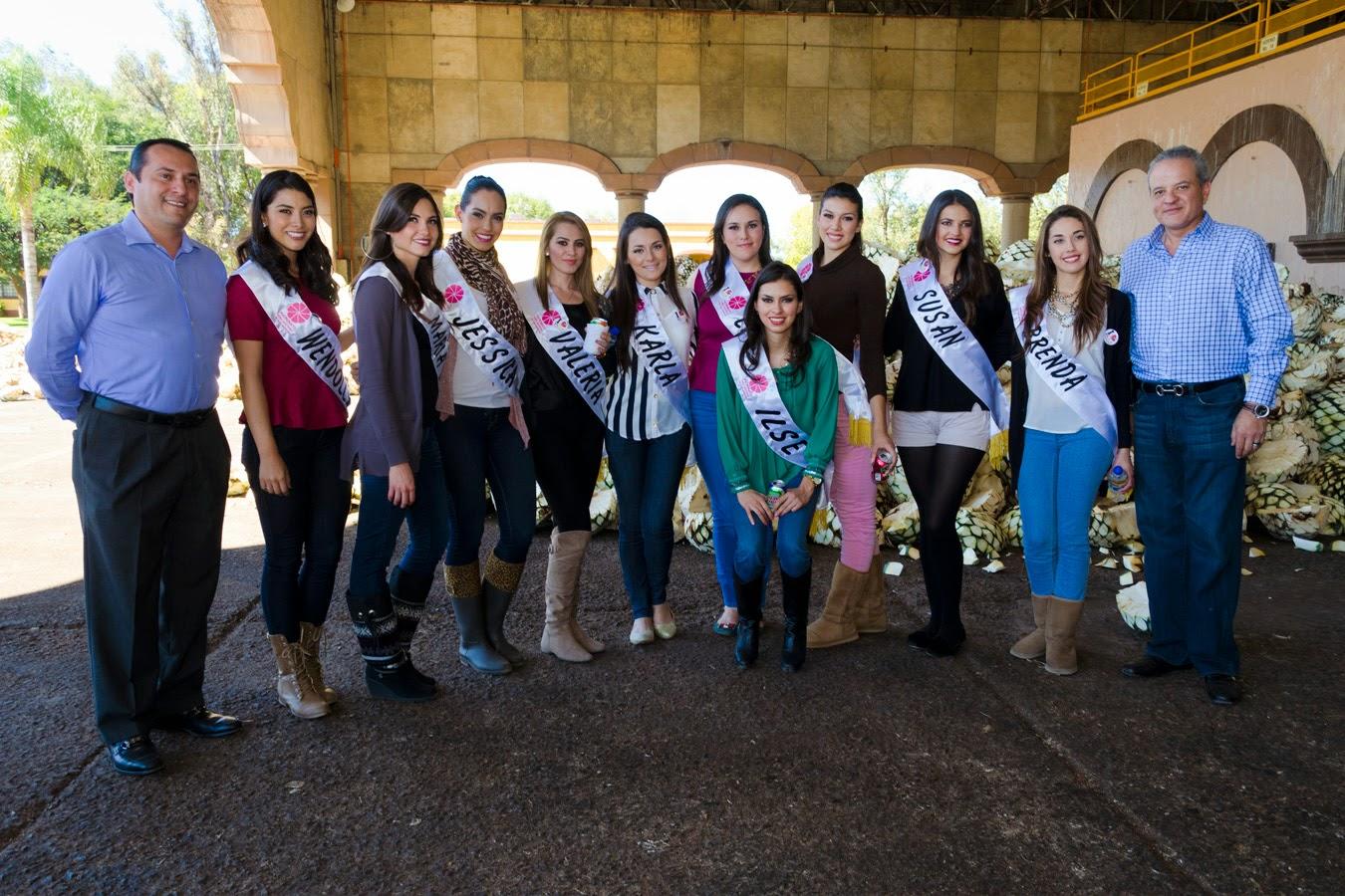 Bolsa De Trabajo Merceria Del Refugio : La hacienda san jos? del refugio recibe a las candidatas