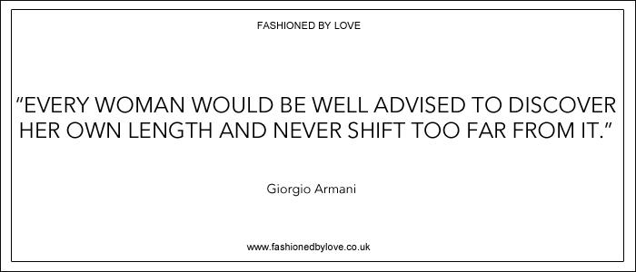 via fashioned by love | best fashion & style quotes |Giorgio Armani