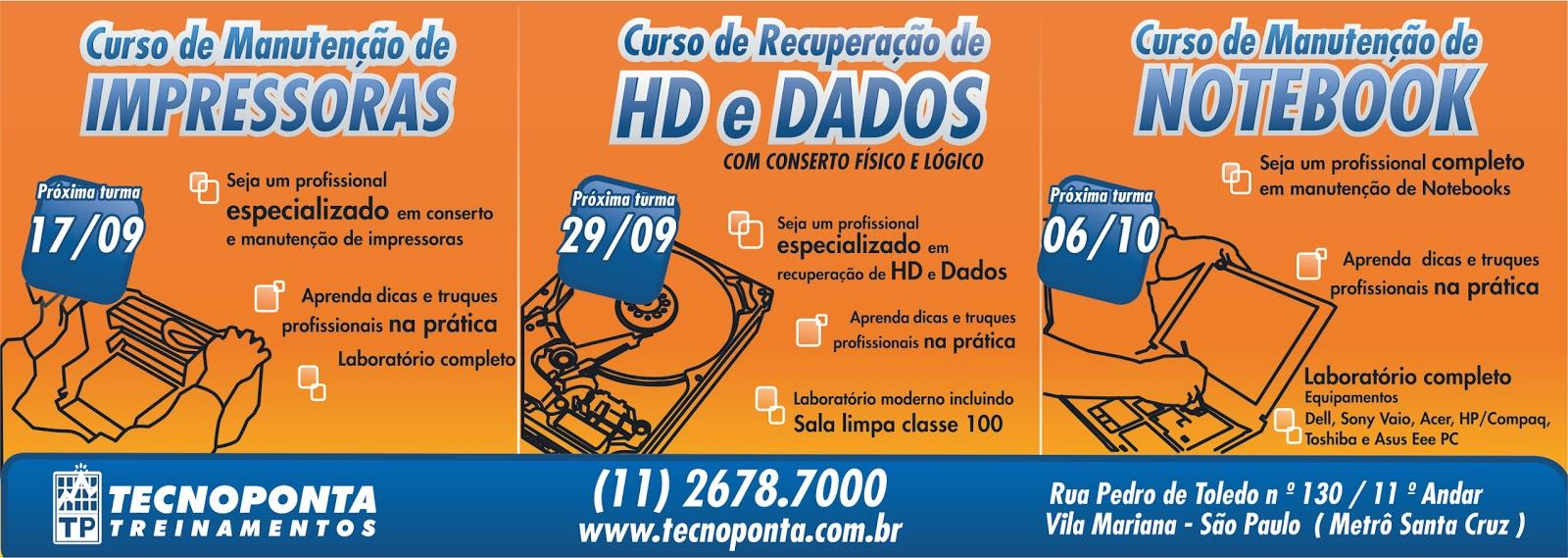 f09a441162a Jornal Ícone - Cursos de Impressoras HD e Dados