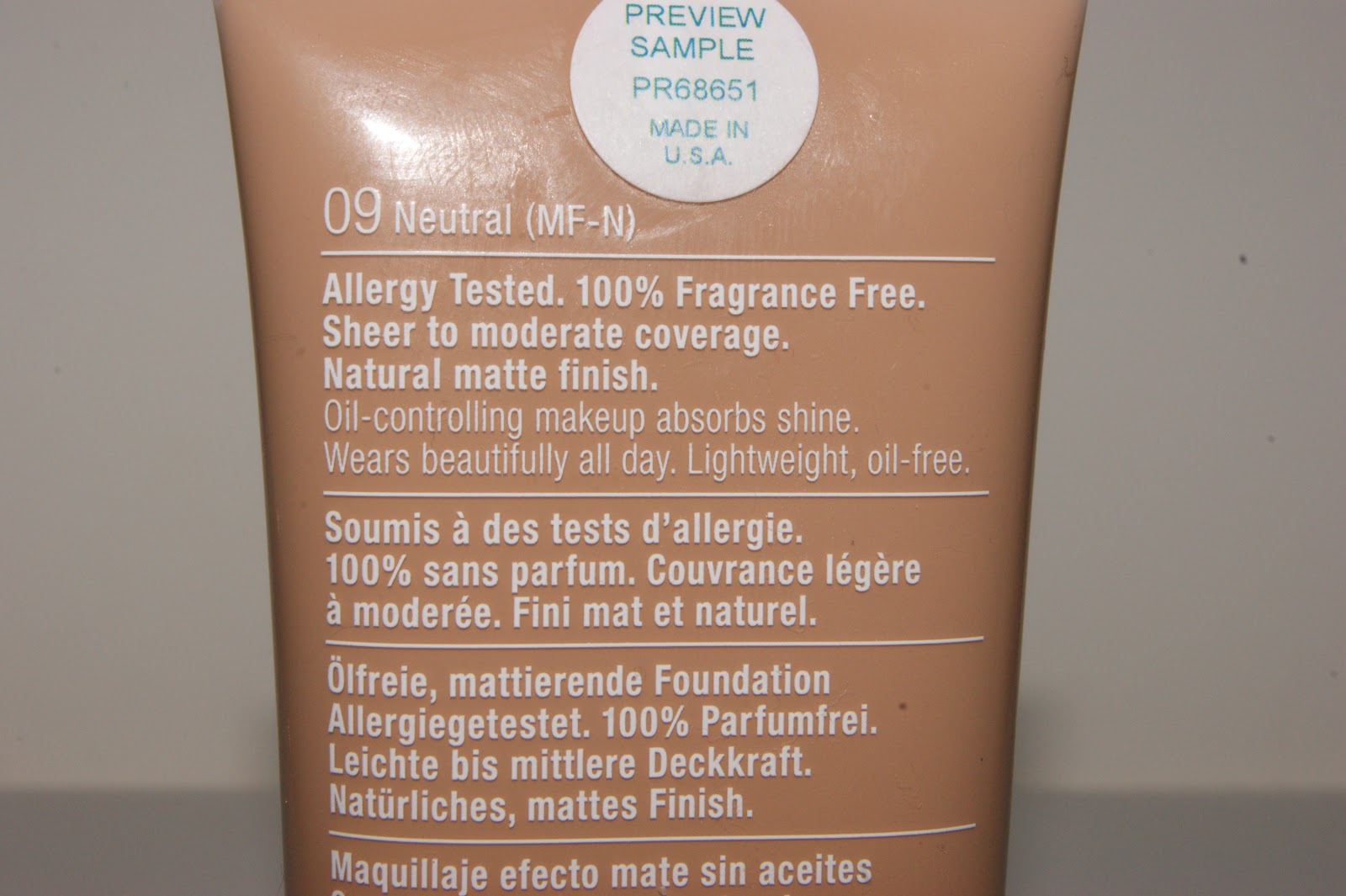 Clinique Stay Matte Oil Free Make Up Foundation Review The