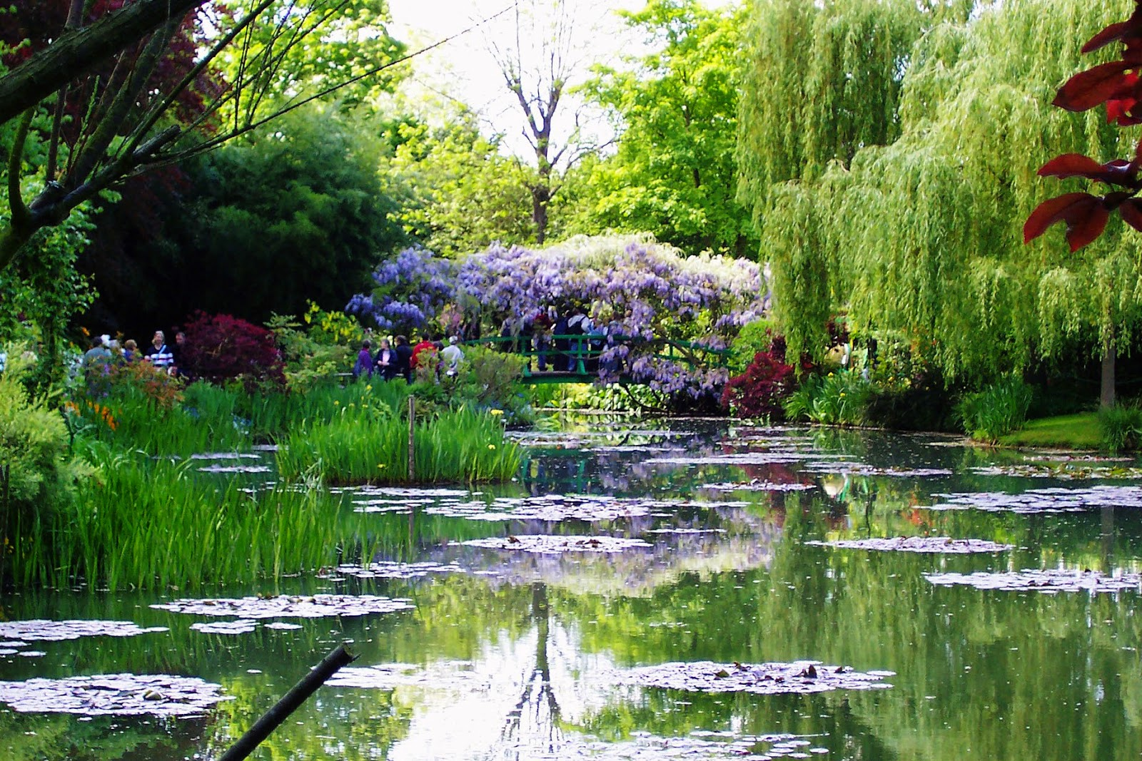 E arthistory monet 39 s giverny for Liquid garden