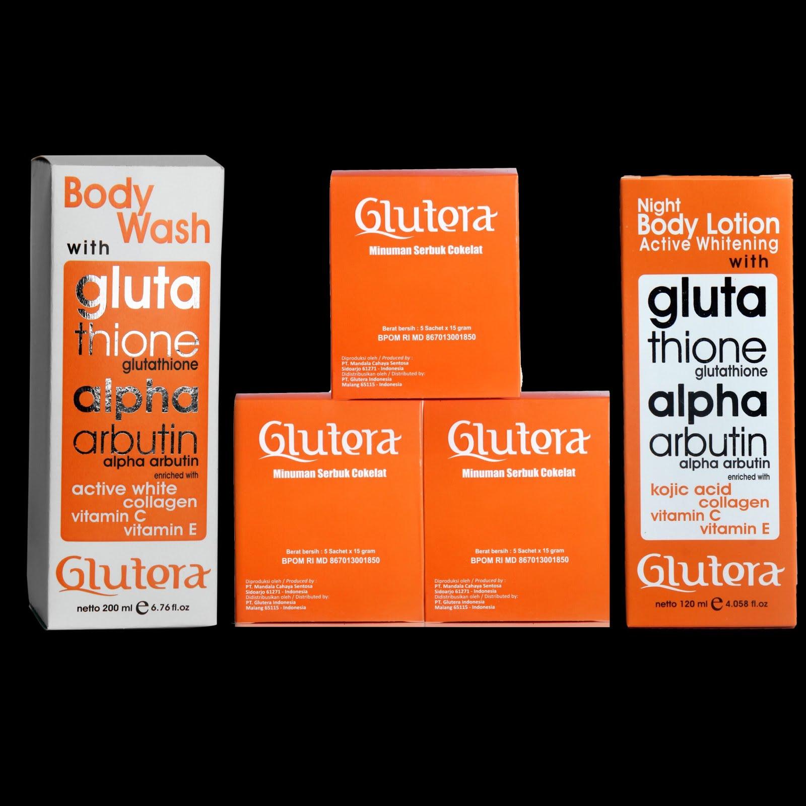 Paket Glutera Glutathione