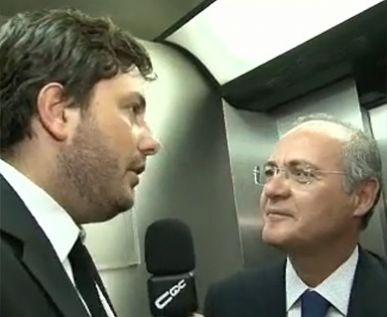 Renan Calheiros no CQC