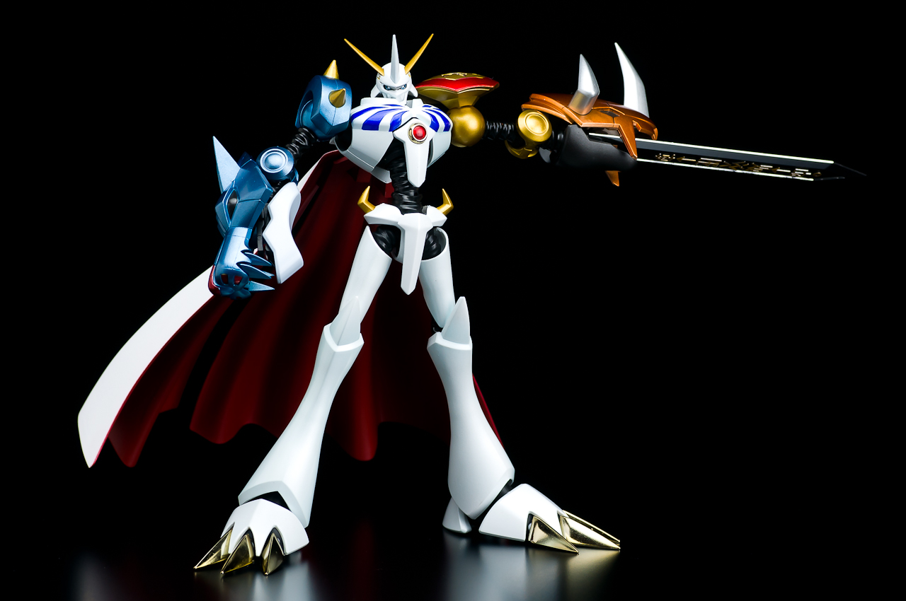 Omegamon D Arts guNjap: FULL Review: B...