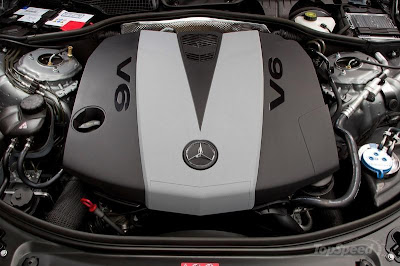 2011 Mercedes S class Engine