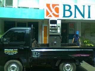 Pindahan  ATM BNI Cempaka Putih Jakarta