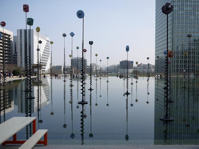 Bassin Takis - Esplanade de la Défense
