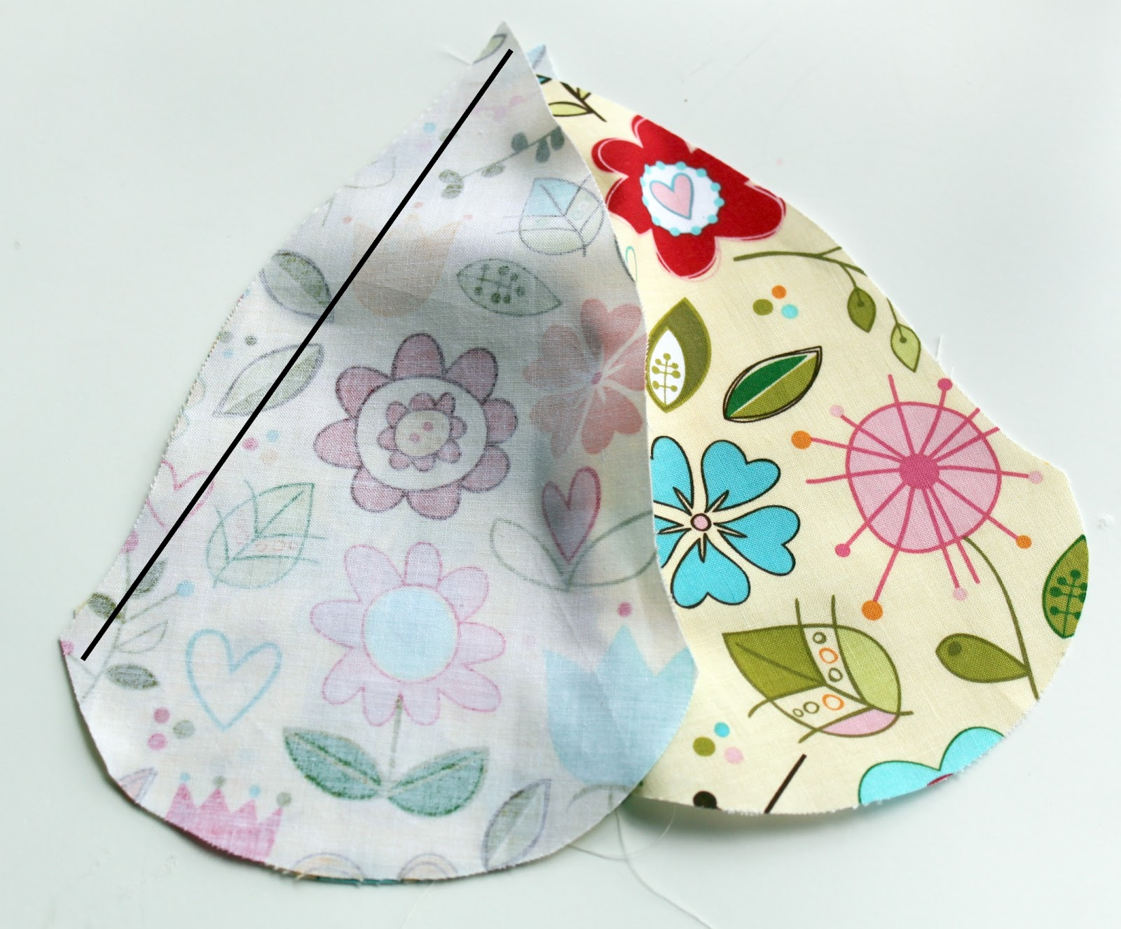 tulip petal sun hat pattern and tutorial the cottage mama