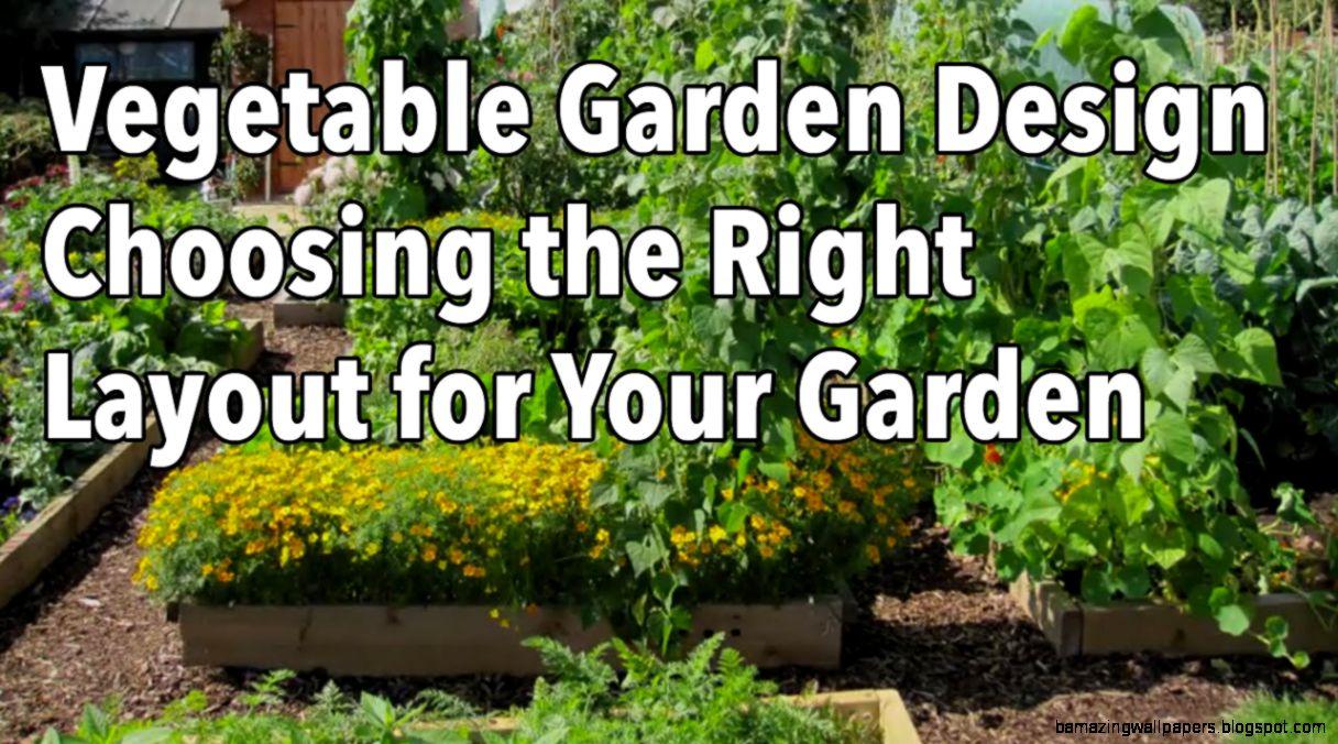 Garden Planning  VegetablesGrowing