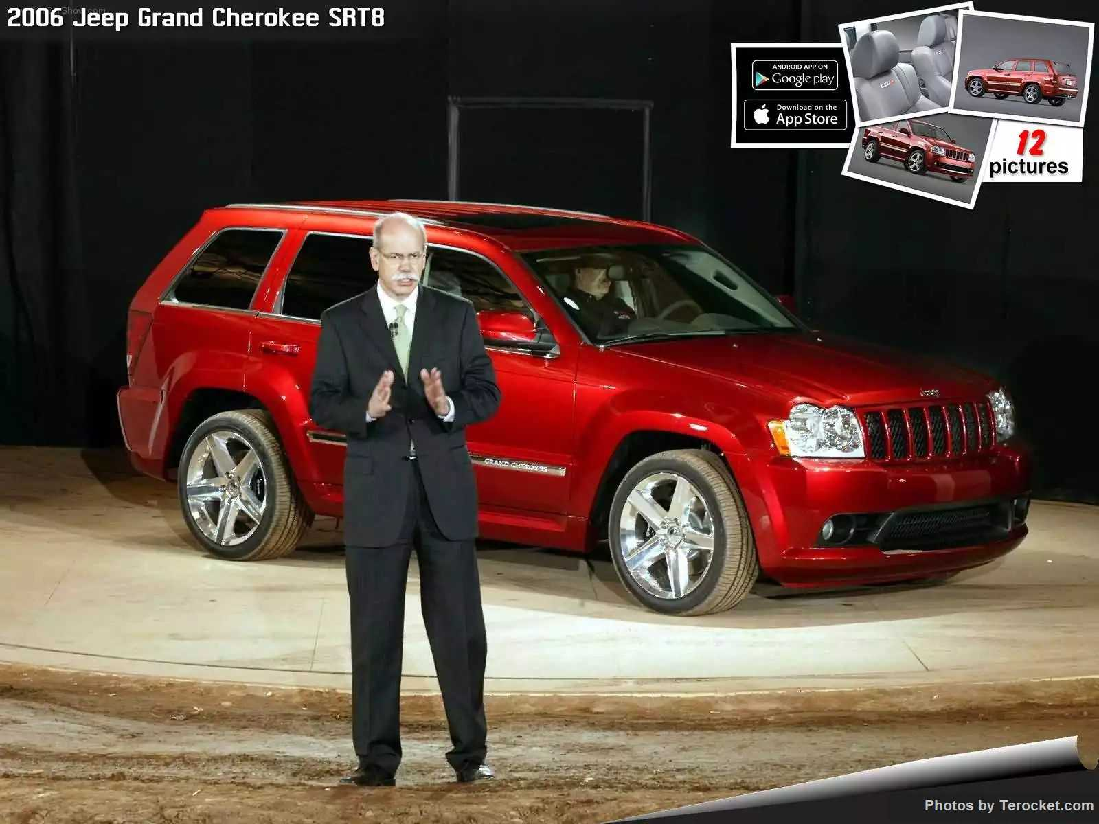 Hình ảnh xe ô tô Jeep Grand Cherokee SRT8 2006 & nội ngoại thất