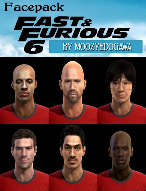 Facepack Fast & Furious by moozyedogawa