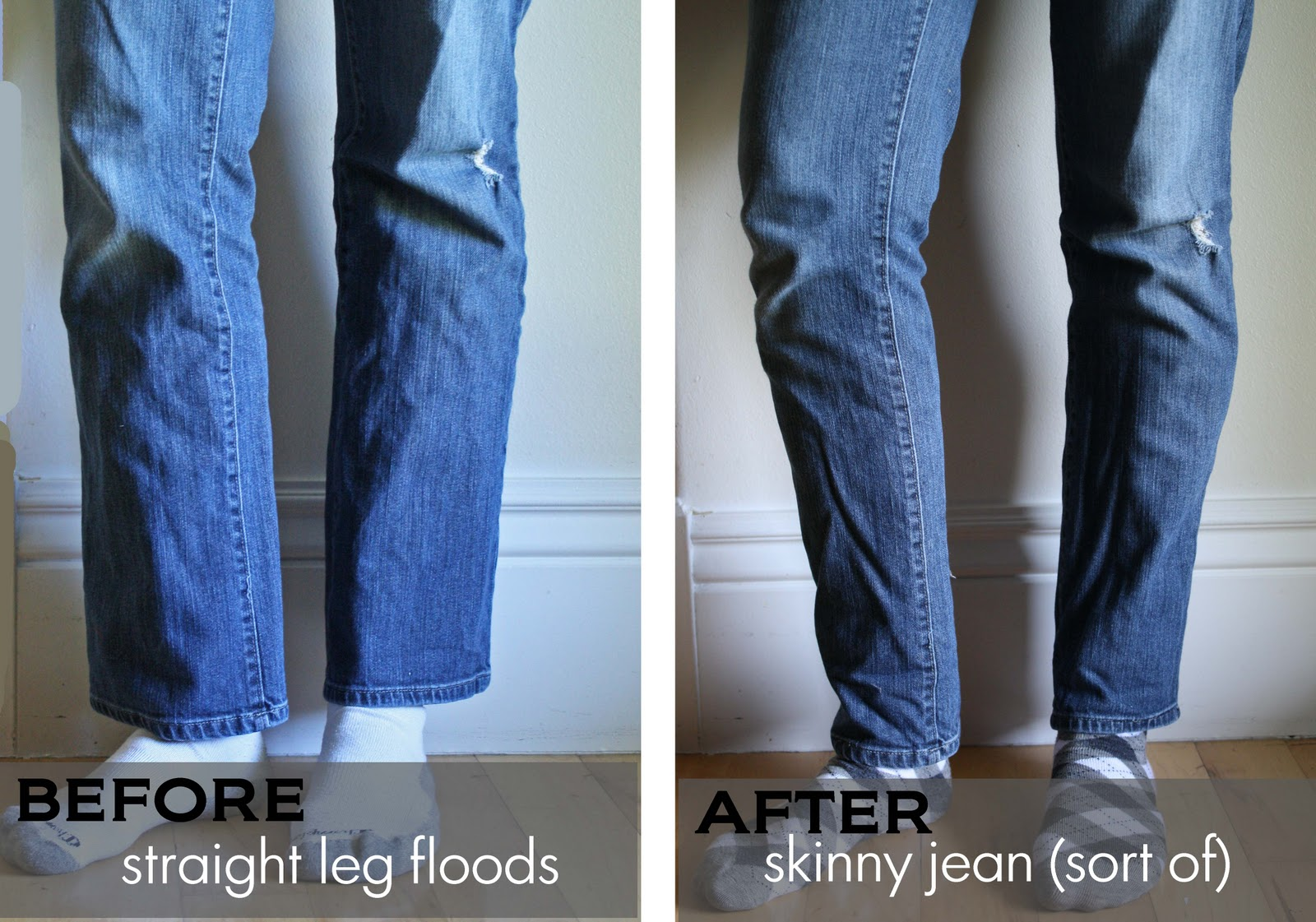 Running With Scissors: Jean Week: Straight Leg to Skinny Jeans