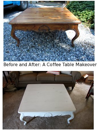 Tiptoethrough Before And After A Coffee Table Makeover