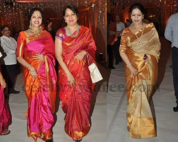 Bridal Sarees in Chanderi Kanchi Silk