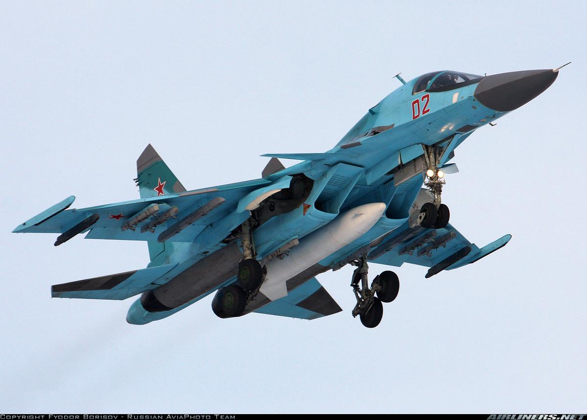 Fuerzas Armadas de la Federación Rusa - Página 4 Su-34_Fyodor+Borisov