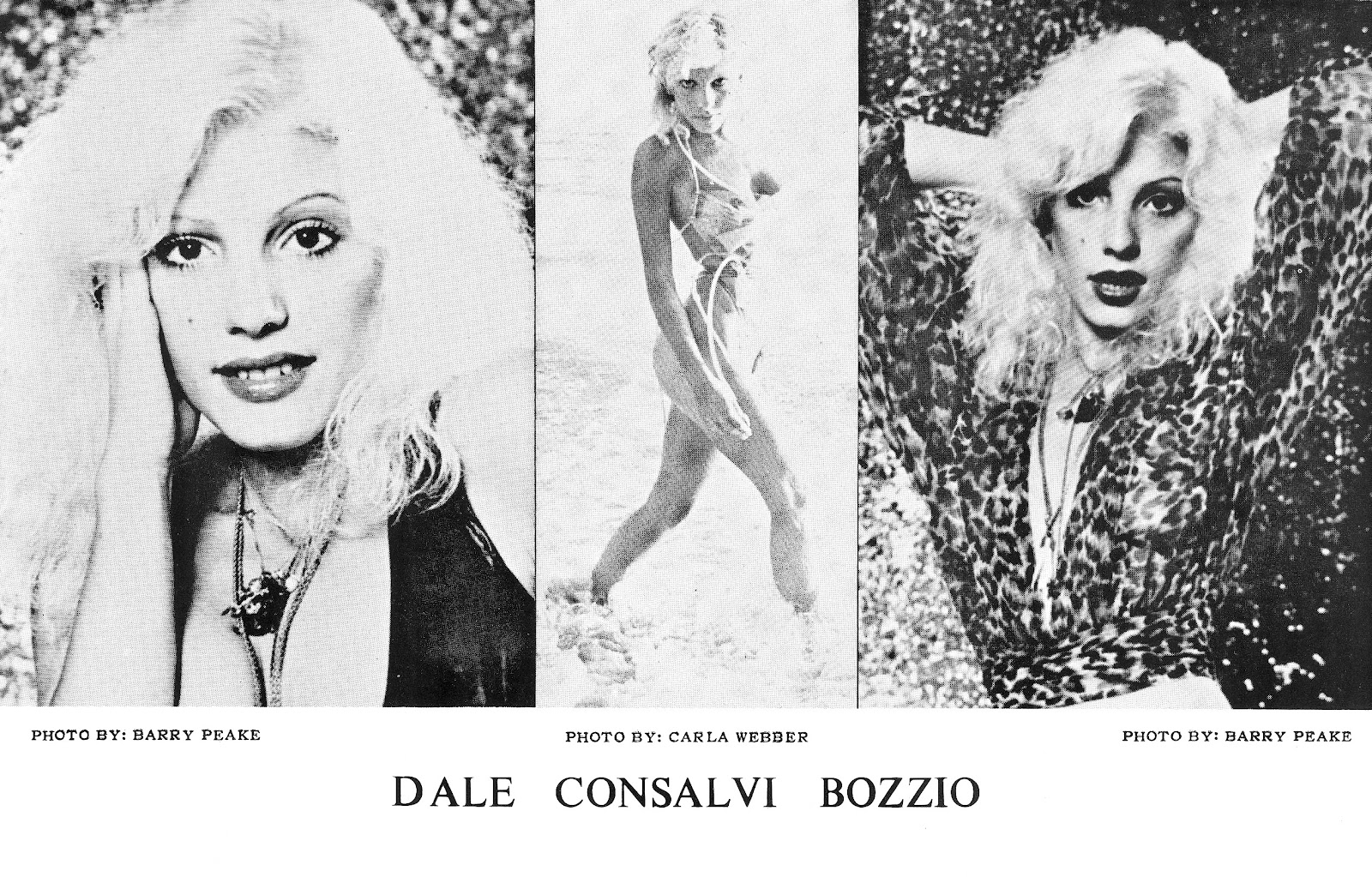 Exceed than dale bozzio hustler pictorial the