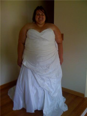 Wedding dresses cheap plus size