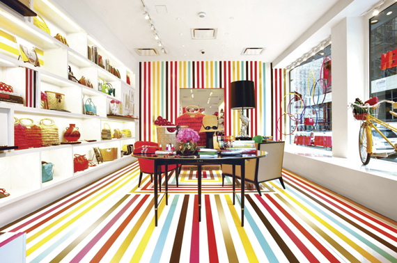 elements of design movement striped floor