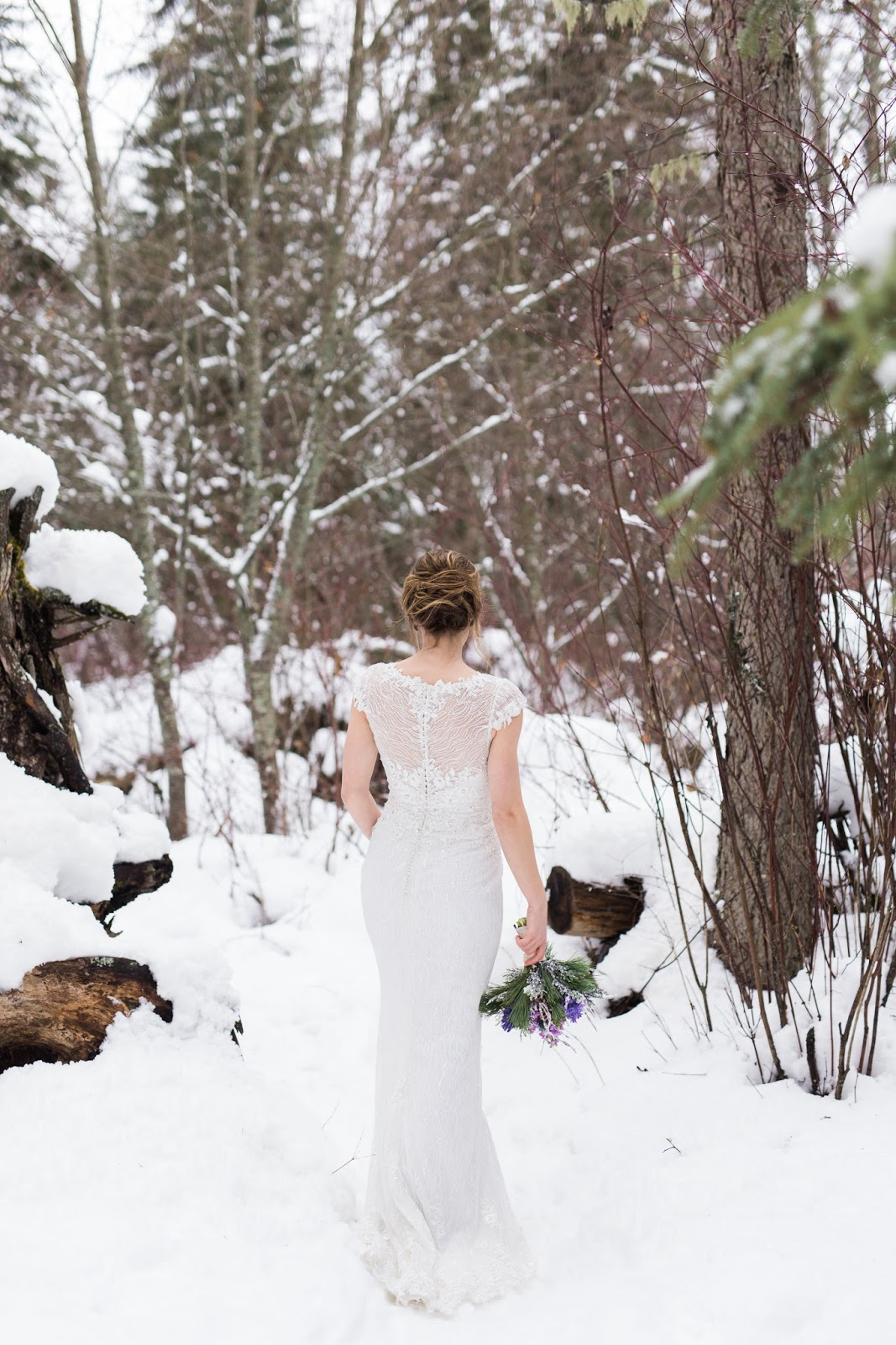 Winter wedding photography by Dina Remi