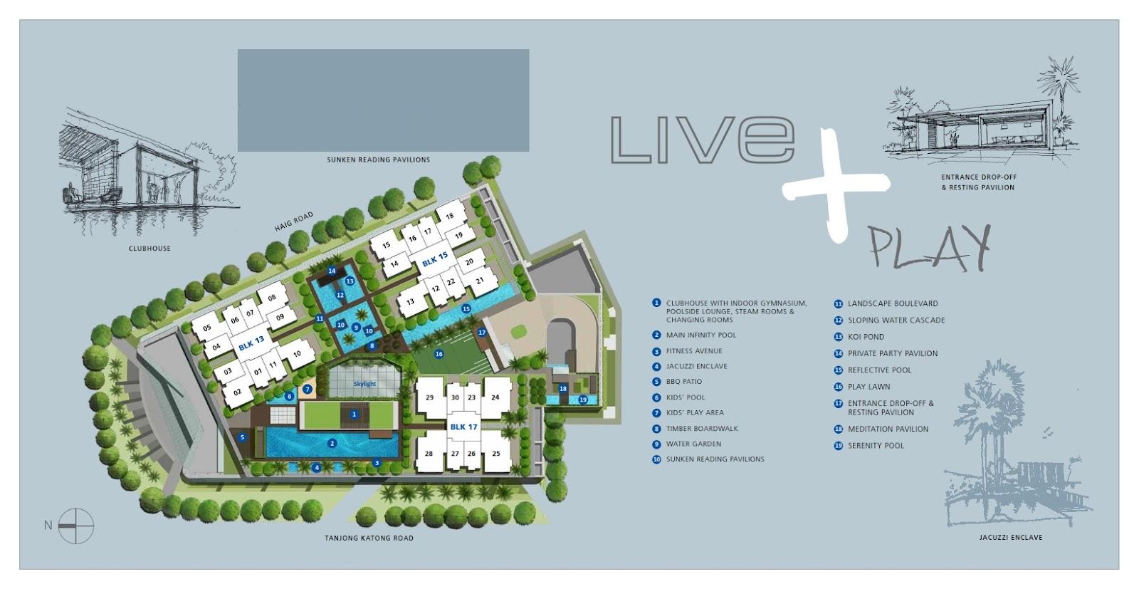 Katong regency site plan floor plan for Floor plan website