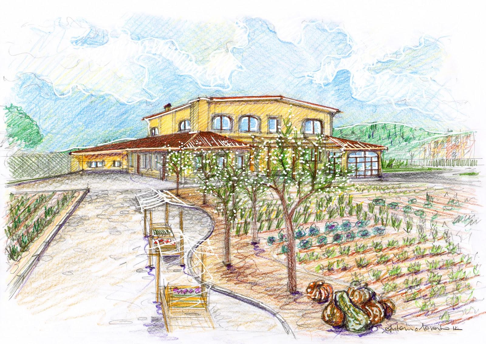 Vent 39 anni di disegni dell 39 arch antonio saporito disegno - Disegnare un giardino ...