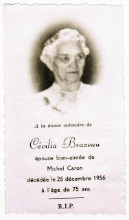 Cecilia Brazeau Caron