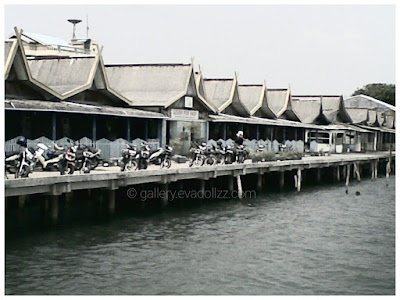 Malay style seaport, Tanjung Uban, Riau Islands - Indonesia
