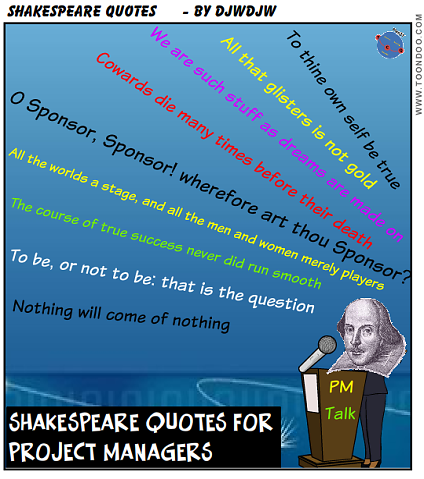 Shakespeare knew a bit about Project Management