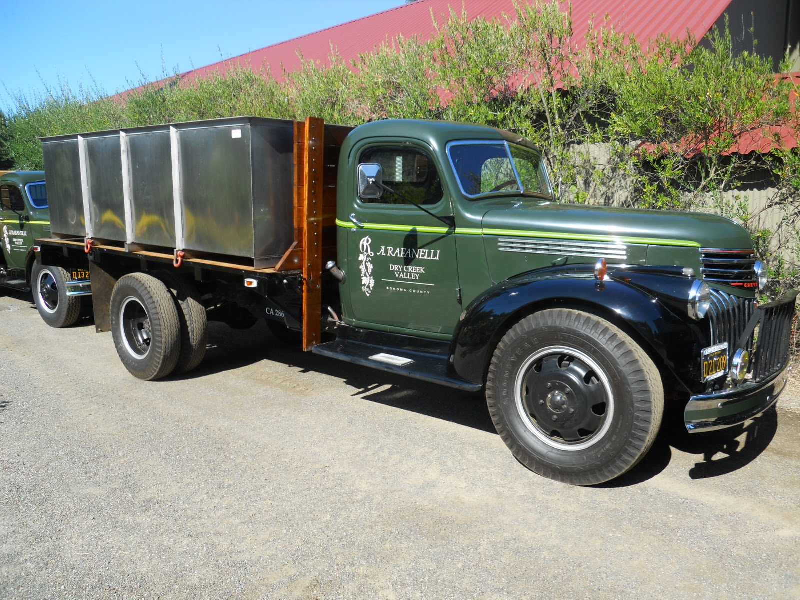 commercial truck success blog harvest time with a 1950s chevrolet