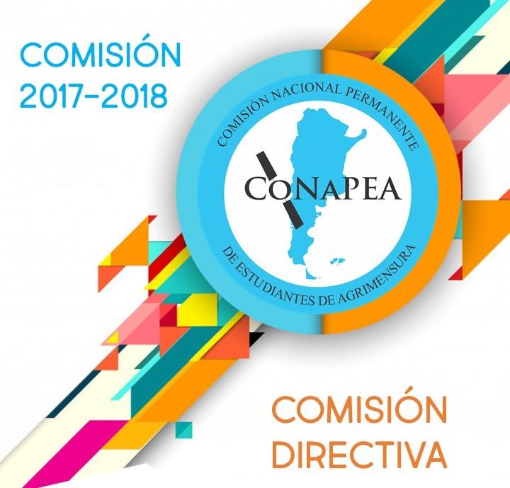Comisión Directiva CoNaPEA 2017-2018